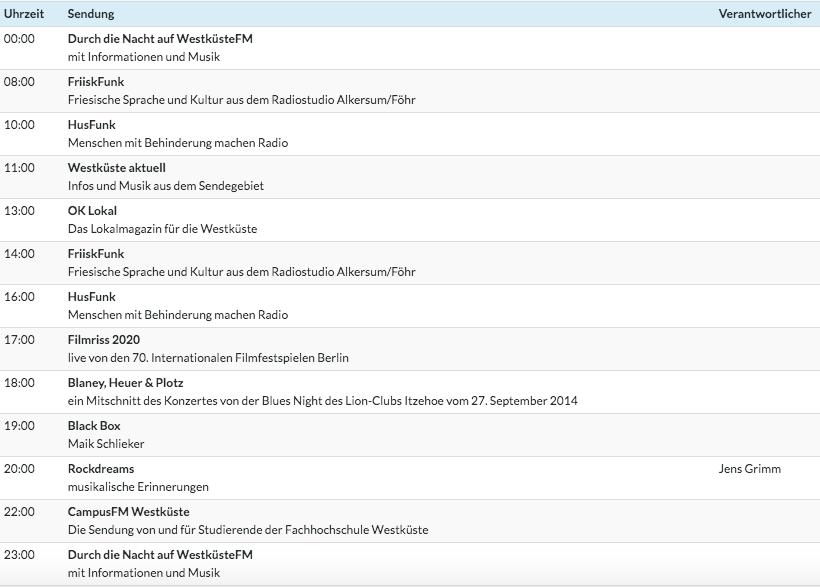 Ab heute schalten wir bis zum 28. Februar jeden Tag (außer Samstag + Sonntag) um 17 Uhr live zum »Filmriss« - der Sendung der norddeutschen Bürgermedien von der #Berlinale  auf WestküsteFM in Dithmarschen und Nordfriesland sowie im http://livestream.okwk.de!pic.twitter.com/Lq2PKpN2Jw