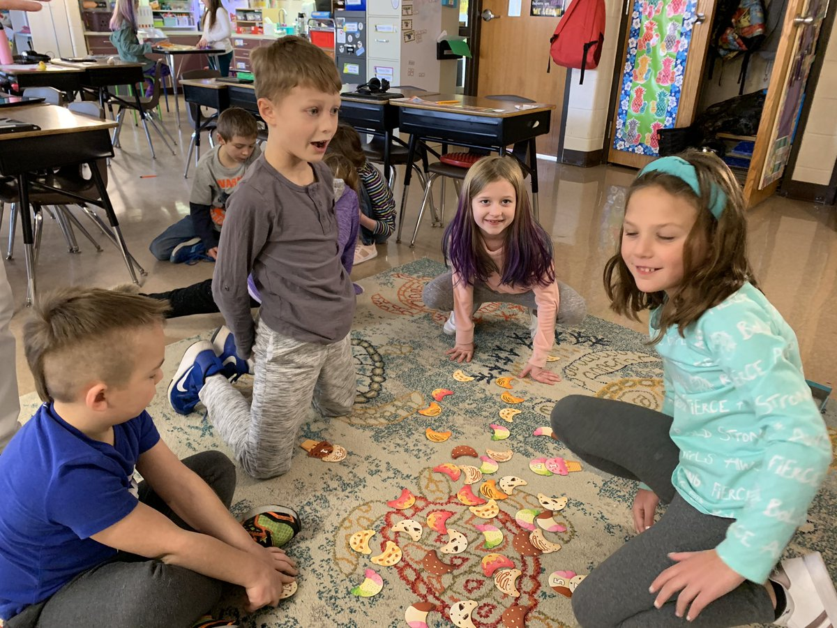 Collaborative board games to practice mental math, spelling, and cooperation.