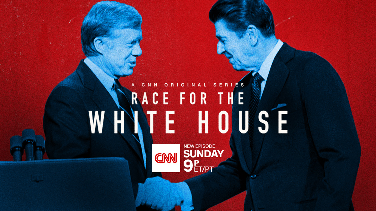 A brutal primary…a punishing campaign…and one of the dirtiest deeds in presidential history. 1980. Reagan vs. Carter on the next #RaceForWH , Sunday at 9 p.m. ET/PT