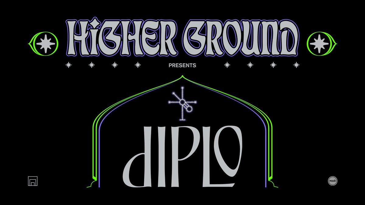 Just announced! @diplo makes his Brooklyn Mirage return on May 29th for another round of Higher Ground with some very special guests TBA. Don't miss a night with one of electronic's most boundary pushing artists. Sign up for access to presale tickets: bit.ly/DPL-BKM