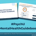 Image for the Tweet beginning: Check out the #PsychU #MentalHealthGuidebooks