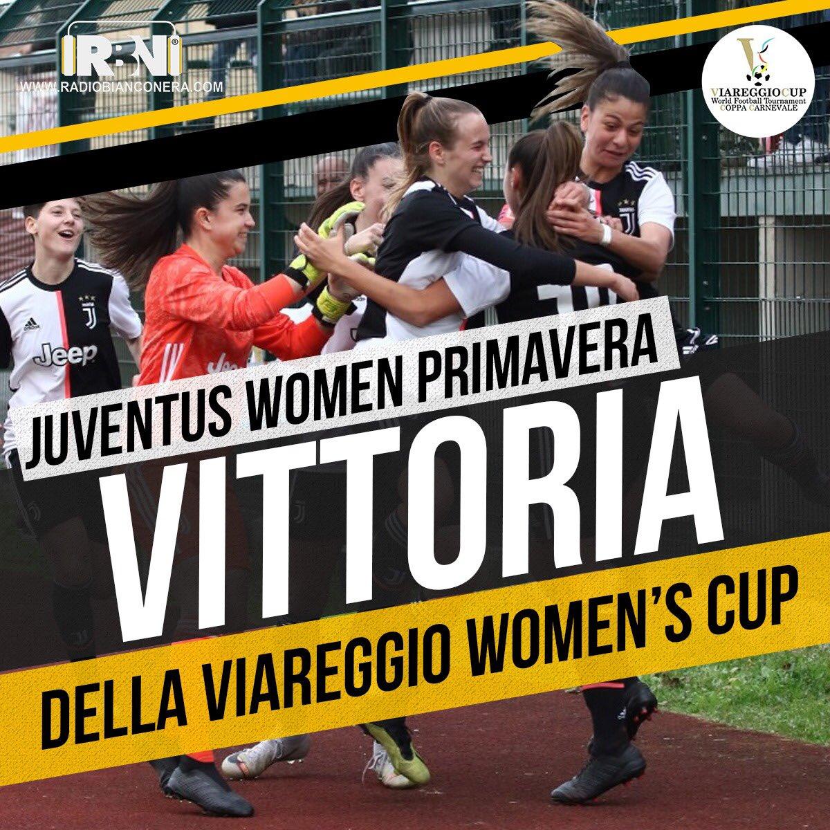 Complimenti alle ragazze della #under19 che si sono confermate campionesse della #ViareggioWomensCup  In finale battuta la #Roma 3-2 #RadioBianconera gioisce con voi!!! #RBN #lunicacheconta