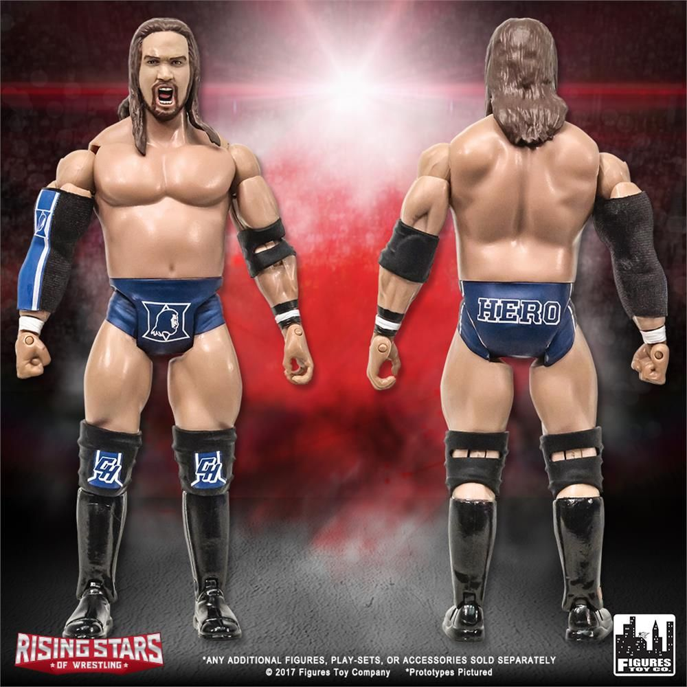 Get double the knockout power with 2 versions of @KassiusOhno!  Our #RisingStarsofWrestling series features the original #ChrisHero releases in your choice of Dream Team or Duke Blue ring attire! #ftctoys #NXT #WWENXT #scratchthatfigureitch @MajorWFPod