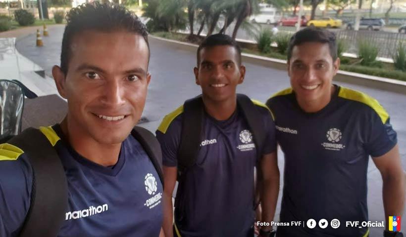 Árbitros venezolanos iniciaron segunda pretemporada en Paraguay | #Arbitros | #CONMEBOL | #FVF | http://bit.ly/39KmY6wpic.twitter.com/GOHhybDhJf