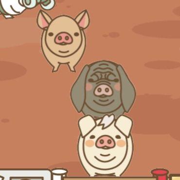 【ようとん場MIX】本格豚育成ゲーム 豚を育てて出荷しよう #ようとん場MIX #yotonmixおはようございます。今日はPC関係のお手伝いの日で、朝から晩までの予定です。旦那の職場のお手伝いですが、頑張ってきます💪ブタちゃんのメンツは今日も地味目です😃💦🐽🌸🍀