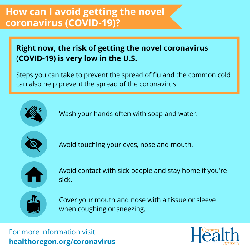 Get the facts on the #coronavirus. Read more details and get resources on this and other emerging respiratory infections on OHA's webpage: https://t.co/2brLCd6Z6Z #COVID19