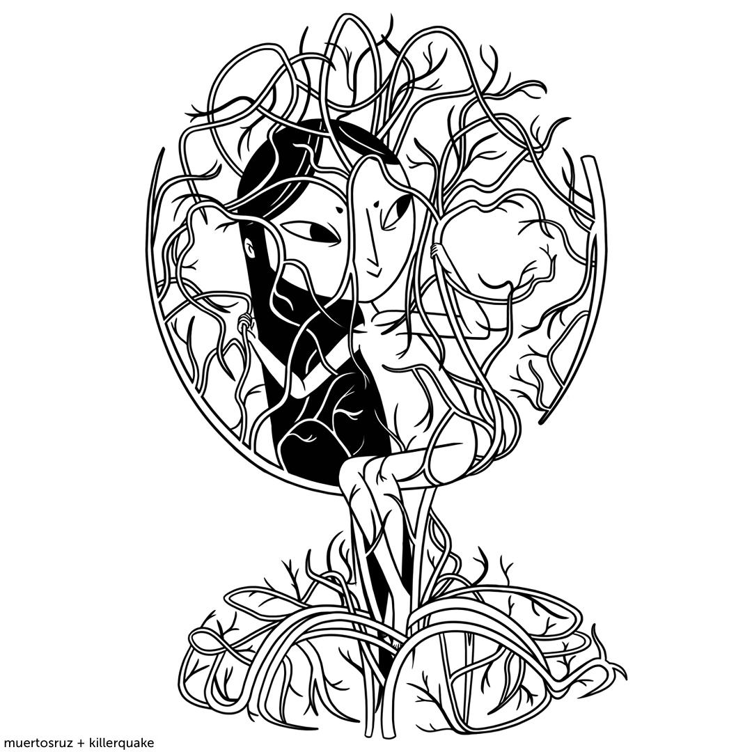 Productos oficiales de @muertosruz aquí 💀🖤👇    #art#artist#artwork#artoftheday#illustration#instaart#draw#drawing#sketch#love#doodle#girls#sketching#ink#inked#dark#scary#mood#darkartists#darkart#friends#goth#popsurrealism#tatto