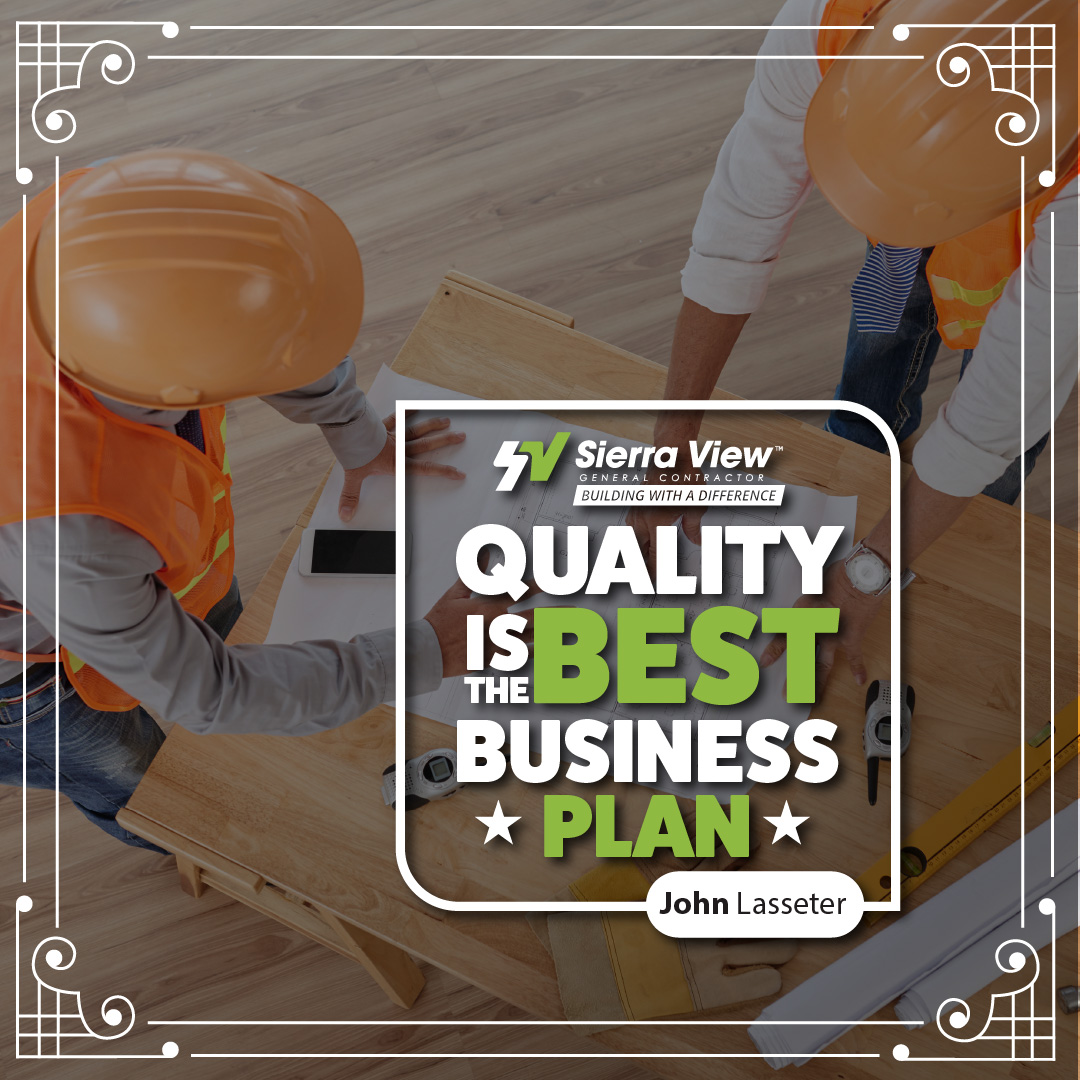 When your top priority is quality in your new commercial construction or renovation project, Sierra View is the clear choice.   http://sierraview.com  #trustedconstructioncompany #qualitywork pic.twitter.com/Zfxvcka7CC