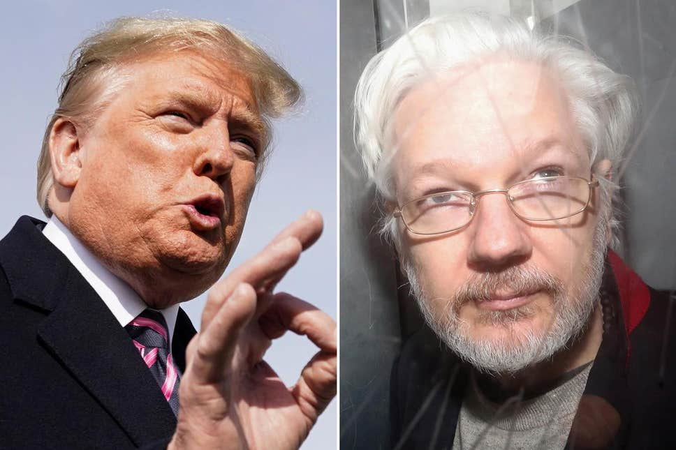 NOTE: Today's Assange news reveals *impeachable conduct*.  Trump—in possession of the best intel in the world establishing Russian election interference—offered a criminal, via an intermediary, an official act in exchange for fabricated evidence that would help Trump politically.