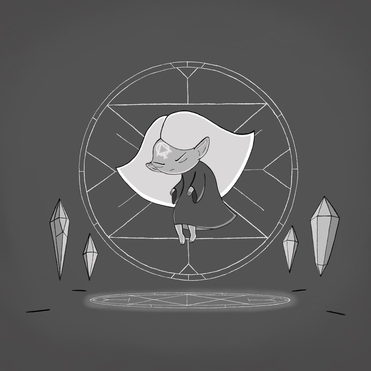 #illustration #characterdesign #procreate #witch #witchwednesday