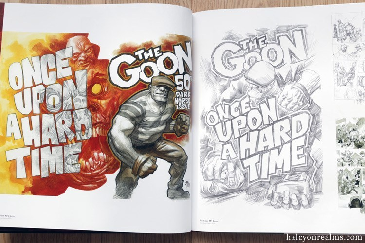 So many fantastic illustrations in The Art of Eric Powell ( The Goon ) -  #artbook #illustration #comics #theGoon @goonguy