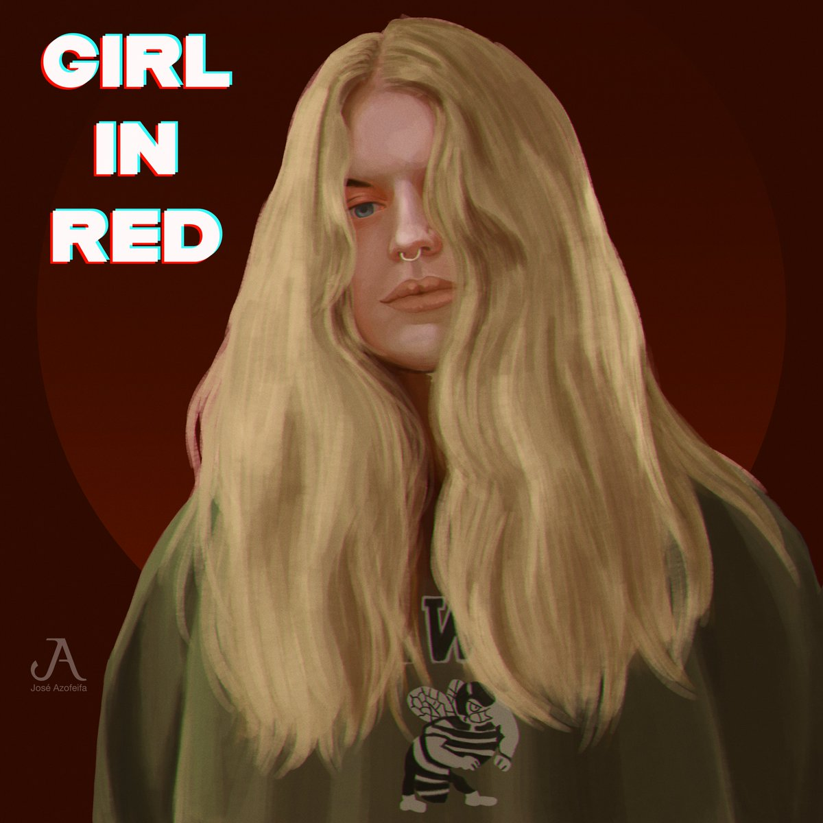 @_girlinred_  #illustration #indie #art #digitalart