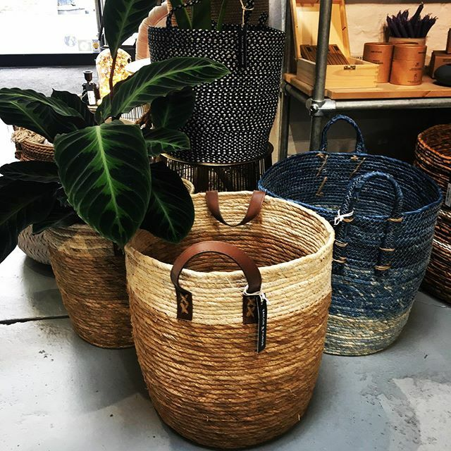 Plants or Laundry? . . . . . #seagrass #home #decor #plants #handmade #natural #blue #boutique #shoplocal #londonshopping #ethicalfashion #guiltypleasure #homebeautiful @greenwichmarket @greenwichlondon @blackheathlondon @visitgreenwich @visitlondon