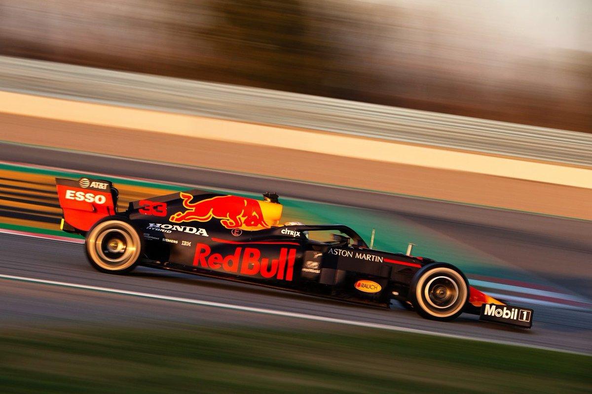 【第1回F1バルセロナテスト1日目・タイム結果】レッドブル・ホンダのフェルスタッペンが最多周回を走行。ハミルトン最速 https://www.as-web.jp/f1/566980 #2020年F1新車 #2020年ホンダF1ニュース #F1 #f1jp #フェルスタッペン