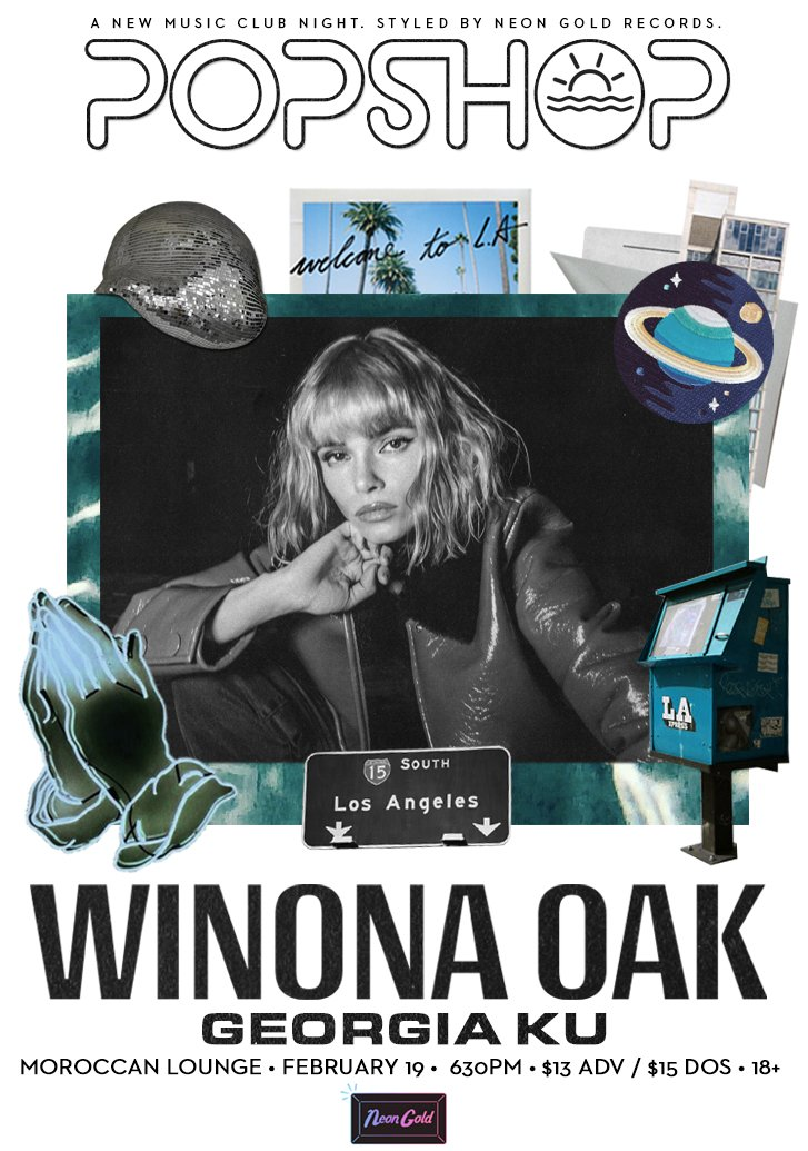 DTLA TONIGHT opening for my forever girl crush & sweet friend @winonaoak