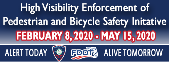 ATTENTION DRIVERS: Our Traffic Unit will be conducting enforcement at Pines Boulevard & Hiatus Road later today for our HVE Pedestrian & Bicycle Safety Initiative.   Please travel responsibly, whether it is on foot 🚶‍♂️, on a bicycle 🚴‍♀️, or behind the wheel of a car 🚗.