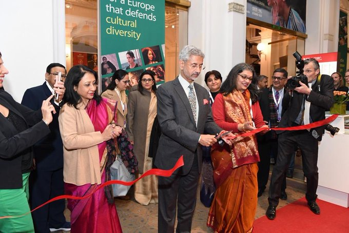 Jaishankar inaugurates India Pavilion at Berlin Film Festival