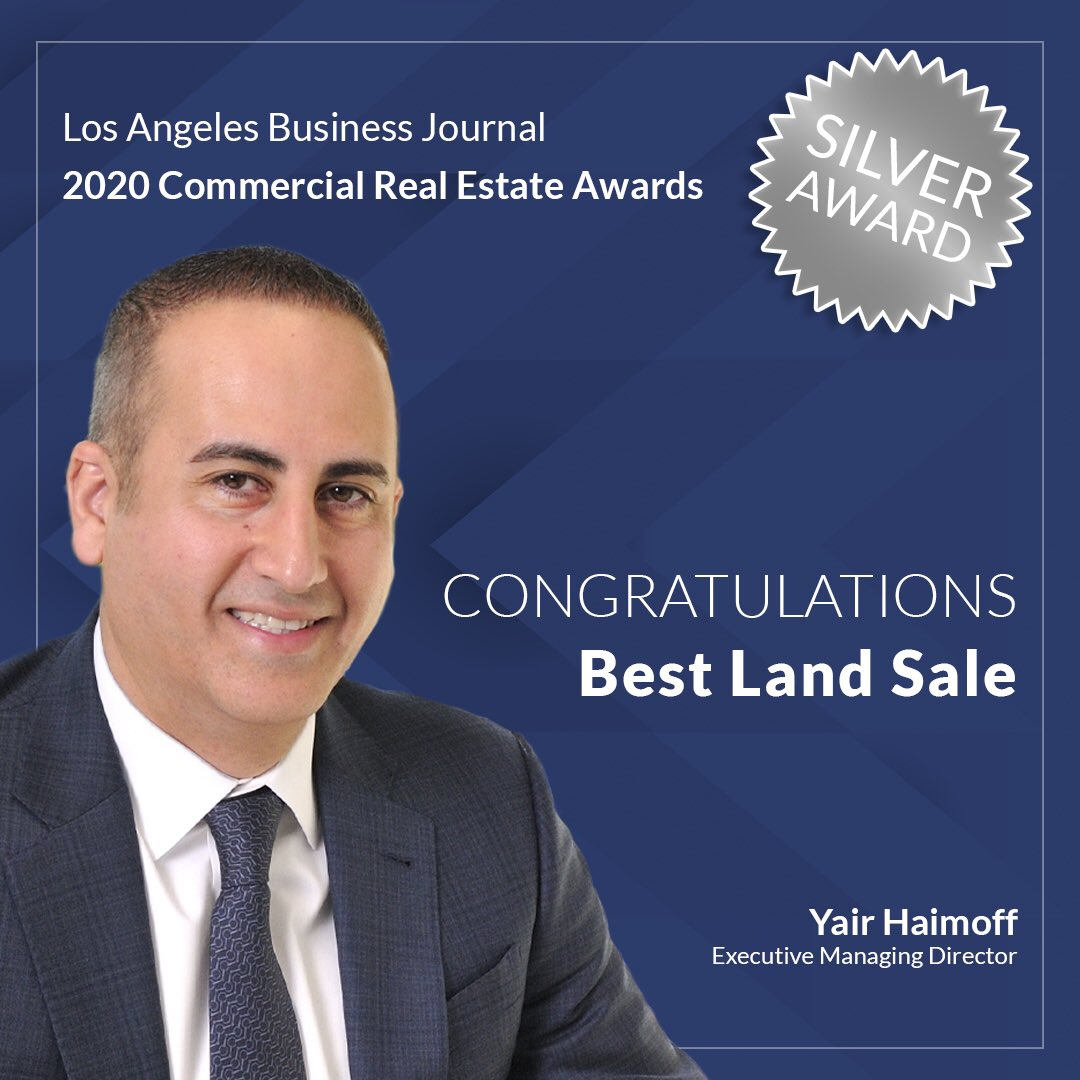 We would like to Congratulate Yair, Matt and Andrew on their #LABJ #CRE Awards!  #SpectrumCRE   #RealEstateNews #CommercialRealEstateAgents  #CommercialRealEstateBrokers  #CommercialRealEstate #SouthernCalifornia #SanFernandoValley  #SantaClaritaValley #Winningpic.twitter.com/HqpR8iS7ad