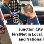 Image for the Tweet beginning: #FirstNetinAction: Located in #rural Kansas,