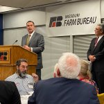 Image for the Tweet beginning: Proud to join @MOFarmBureau for