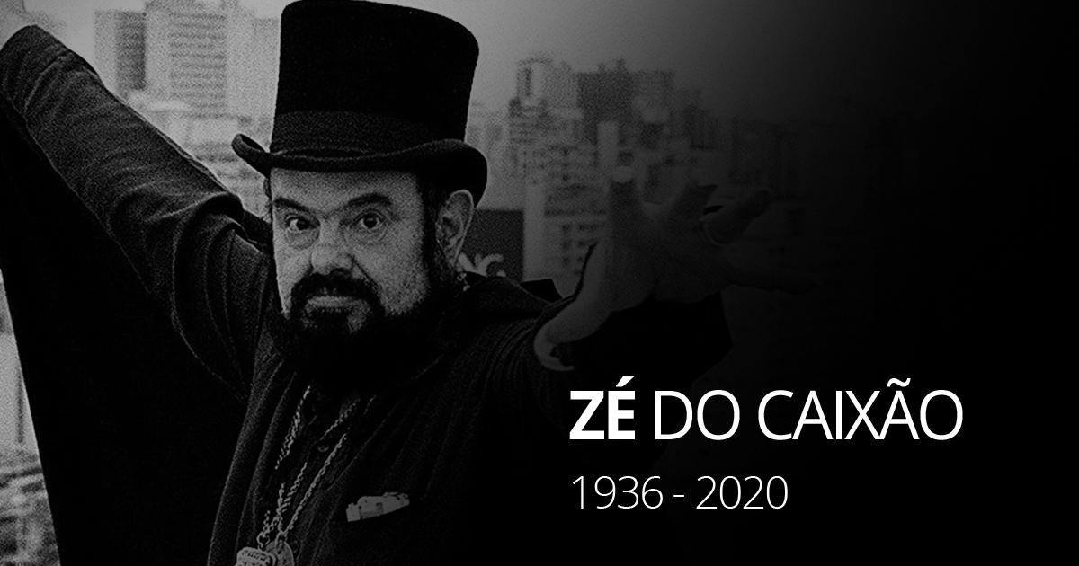 RT @g1: Zé do Caixão, ator e diretor, morre aos 83 anos https://t.co/yWEaT6zYot #G1 https://t.co/3SWA07UULn