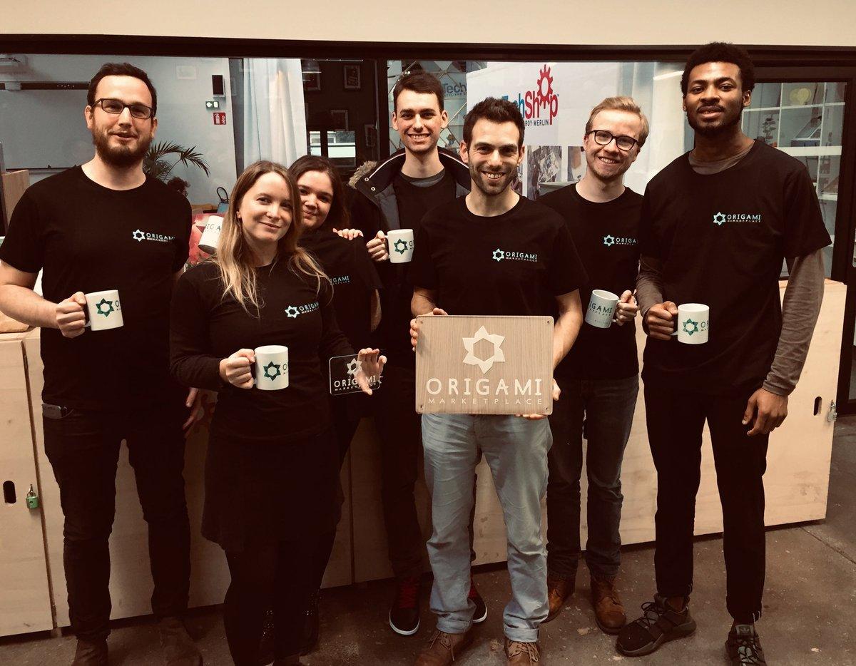 Journée #TeamBuilding création de goodies avec l'équipe @Origami_MP. Merci @techshop_lille pour cette expérience ! pic.twitter.com/bRMLjNkcwP