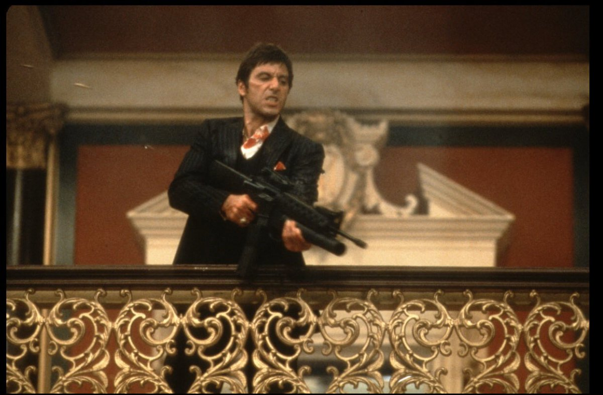"On a Scale of 1-10  1 Being Horrible & 10 Being Amazing What Would You Rate the 1983 Movie ""Scarface?""  #ScarFace #TonyMontana #AlPacino #Movies #Movie #Film #Cinema #1980s #80s #80sThen80sNowpic.twitter.com/6Kf4gJVF6H"