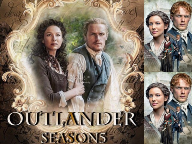 Celebrating #OutlanderSeason5Premiere! 🌳EP Collage🌳Stunning edits of @VeraAdxer_Art & @geno_acedo In Gratitude for Such Beauty! For #ThrowbackThursday. 20/2/20