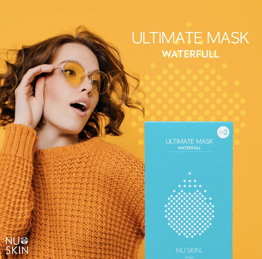 Have you heard of Waterfull?? Our newest mask that recently launched!🧡💦