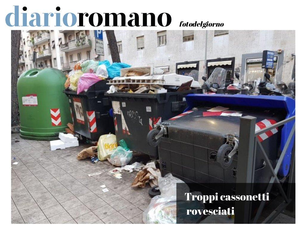 test Twitter Media - Ma perché ci sono tantissimi cassonetti rovesciati? Possibile che siano sempre errori di chi li manovra? Qui viale Libia. . #decoro #decorourbano #rifiuti #ama #Roma https://t.co/SkOqHeGT8Q