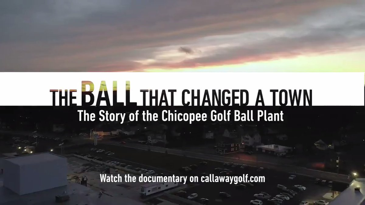 THE BALL THAT CHANGED A TOWN: Our friends at @CallawayGolf have a brand doc taking a look at the history of their world-class golf ball facility in Chicopee, MA. (We toured it last year, it was awesome). FULL VIDEO: callawaygolf.com/golf-balls/chi…