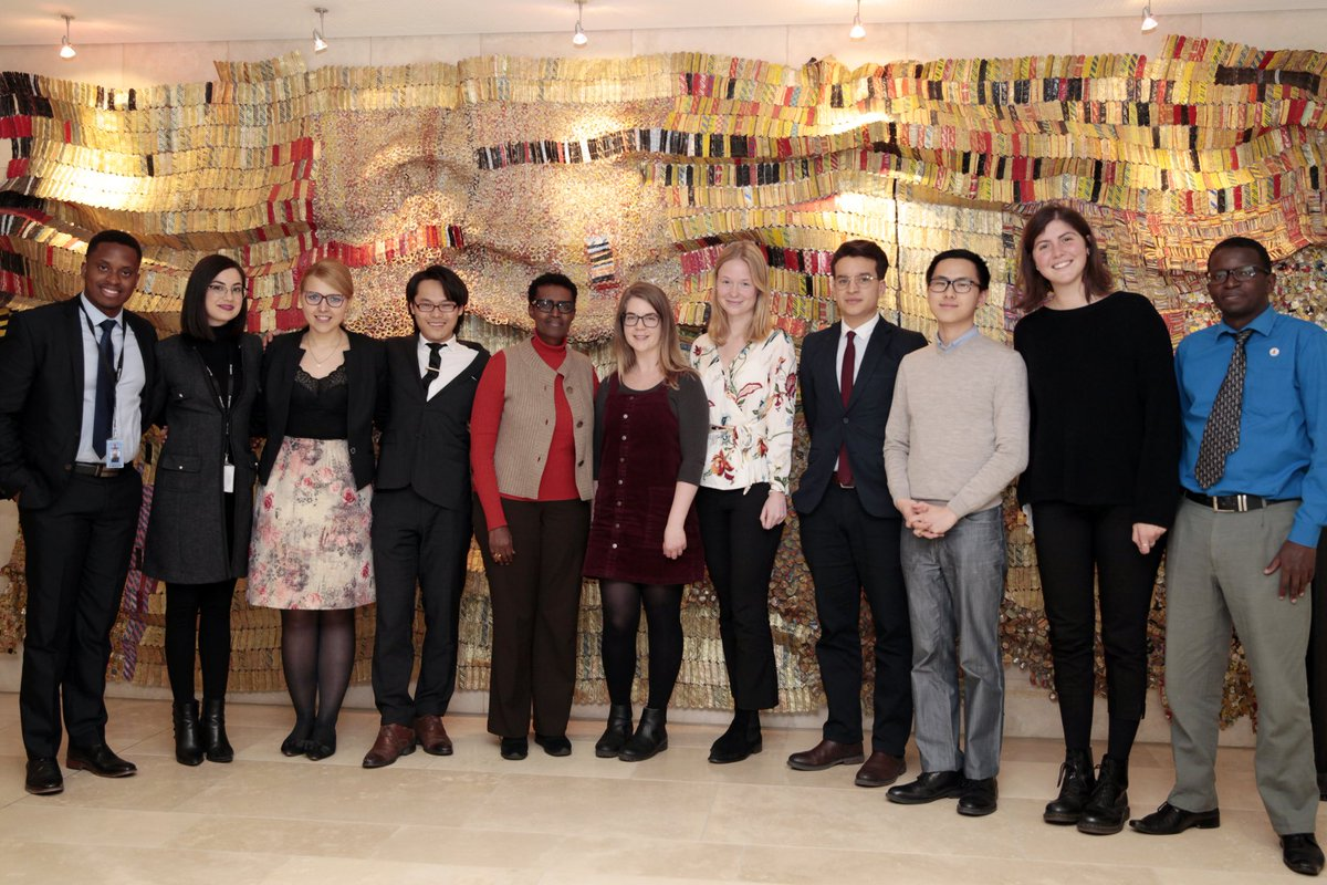 Thk you @UNAIDS Interns for our meeting today. You bring fresh perspectives, strong values & new, much needed skills. With your support, we will improve our Internship programme & strengthen our youth engagement approach. You are passionate & smart. Stay woke!
