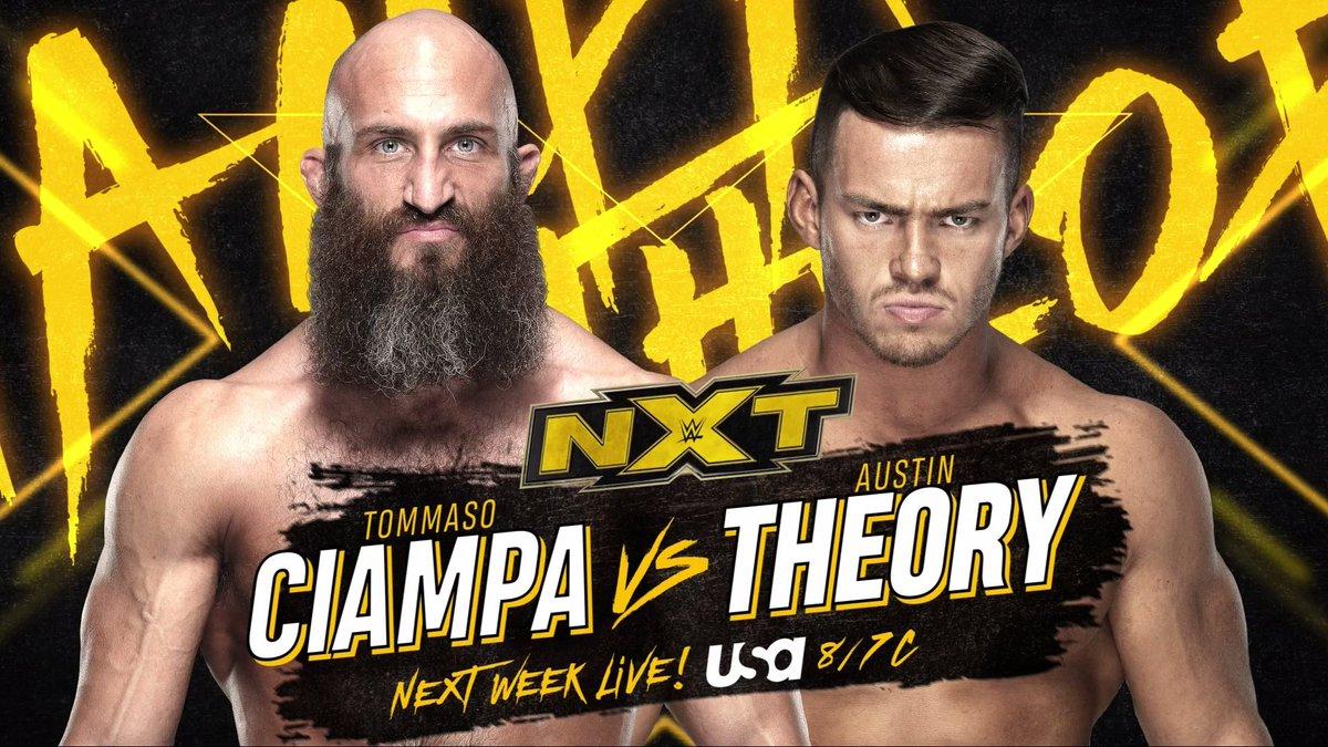 WWE Confirms Main Event & Finn Balor Segment For Next Week's NXT On USA Show