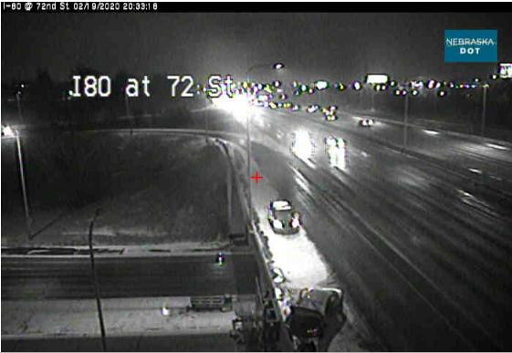 Image posted in Tweet made by Omaha Hwy Conditions on February 20, 2020, 2:32 am UTC