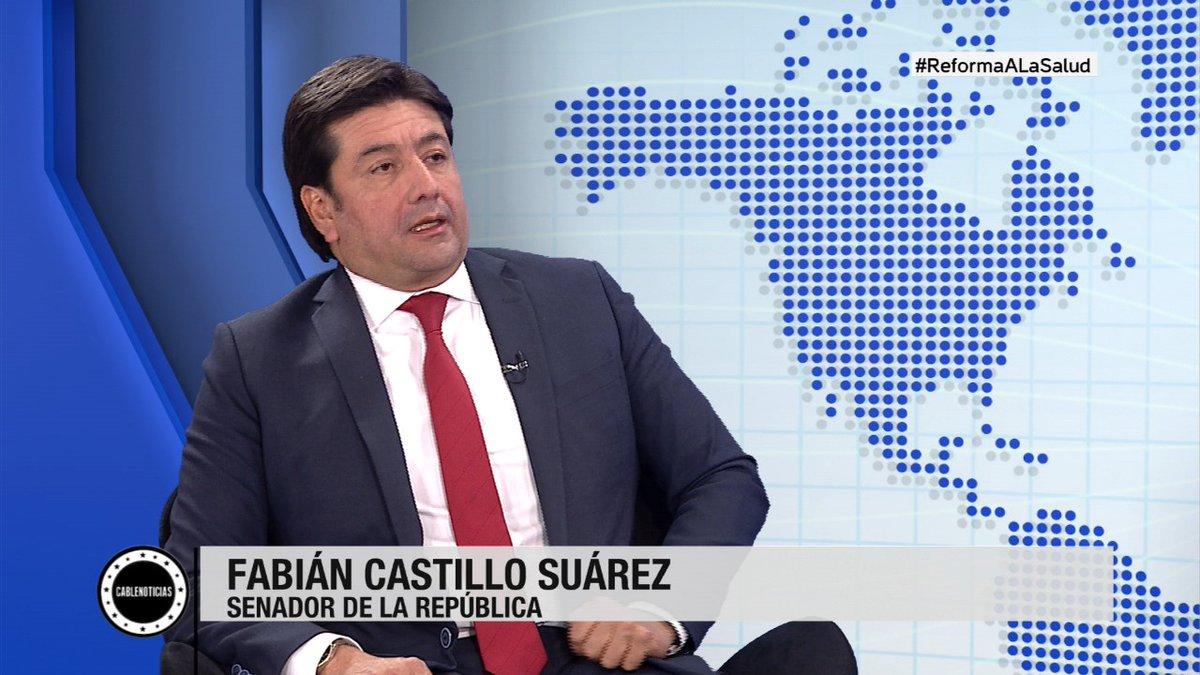 #AHORA En entrevista con  @eahernandezr, Fabián Castillo Suárez (@fabiangcs), senador de la República, nos habla de la actual precariedad laboral para los trabajadores del sector salud - Por: @CABLENOTICIAS- Participe con: #ReformaALaSaludpic.twitter.com/pD4GQStJVK
