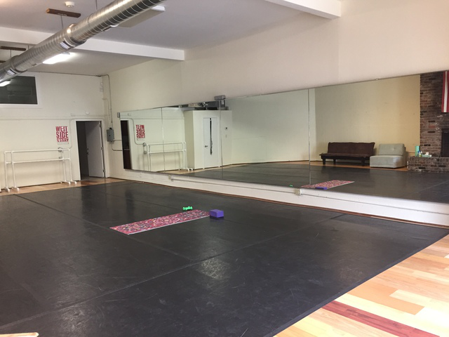 Space for your class in #SF: Studio 505 Dance & Movement Arts  #theresmorespacethanyouthink #rentals #classes
