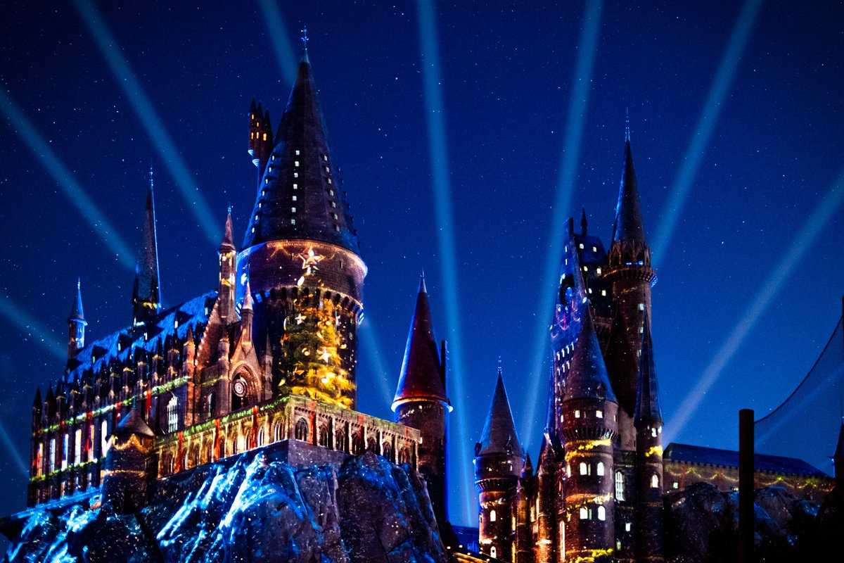 We may have *just* wrapped up Valentine's Day, but we're already counting down the days 'til we get to see Hogwarts at Christmastime. pic.twitter.com/QZ6d7jfuCC