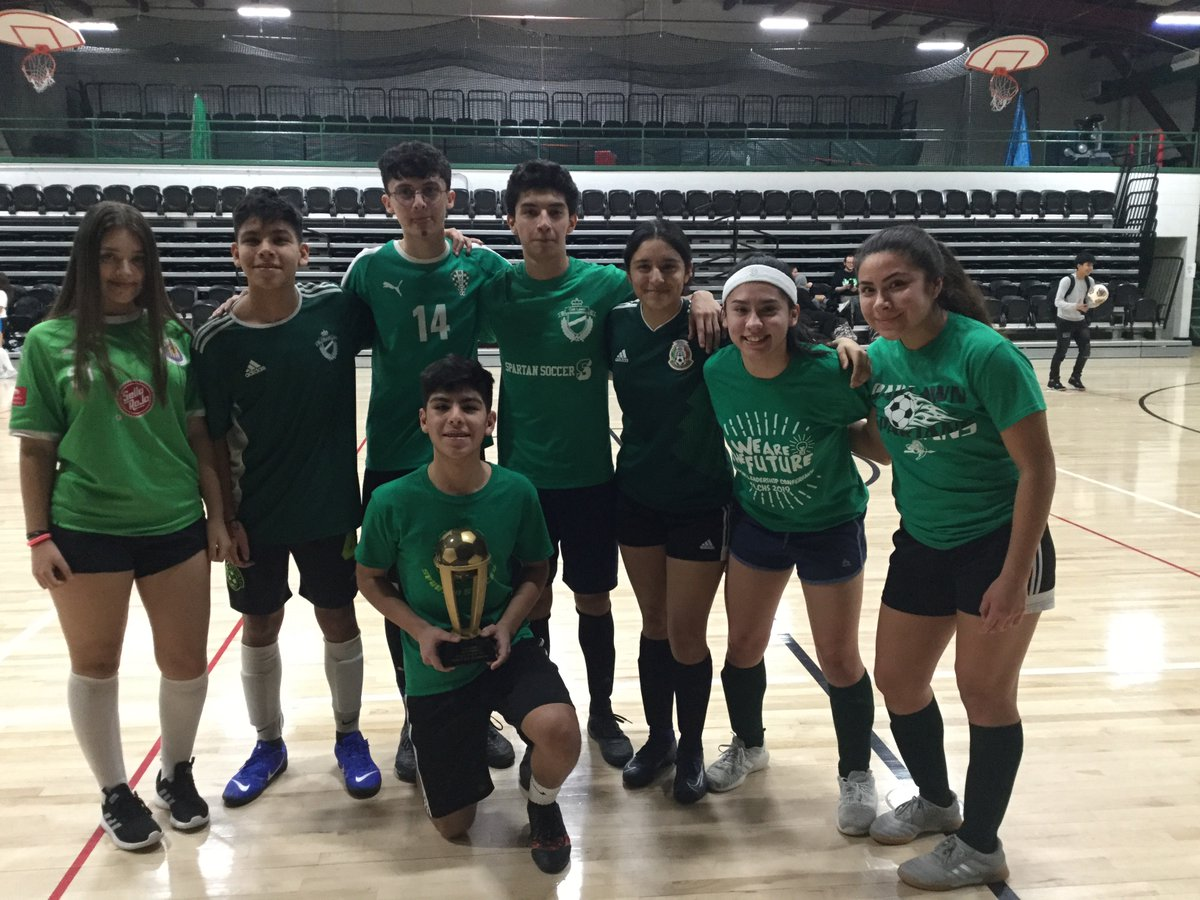 Congrats to Team Mexico who beat Ireland in the final of the annual OLCHS Global Society Fest World Cup. Tomorrow the celebration of our diversity continues with the cultural dance show in the Little Theater during Spartan Plus! #olchspridepic.twitter.com/KhOVmrS6H0