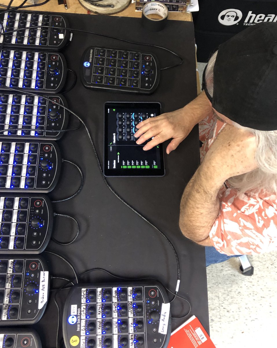 Max is putting the HB PRO app update (coming soon!) through its paces. How do you use our iOS app? Whats the most useful feature? What features do you want to see?  #hearback  #HearMoreYou  #proaudio  #prosound  #studiogear  #testing  #app  #monitormixing  #sound  #audio
