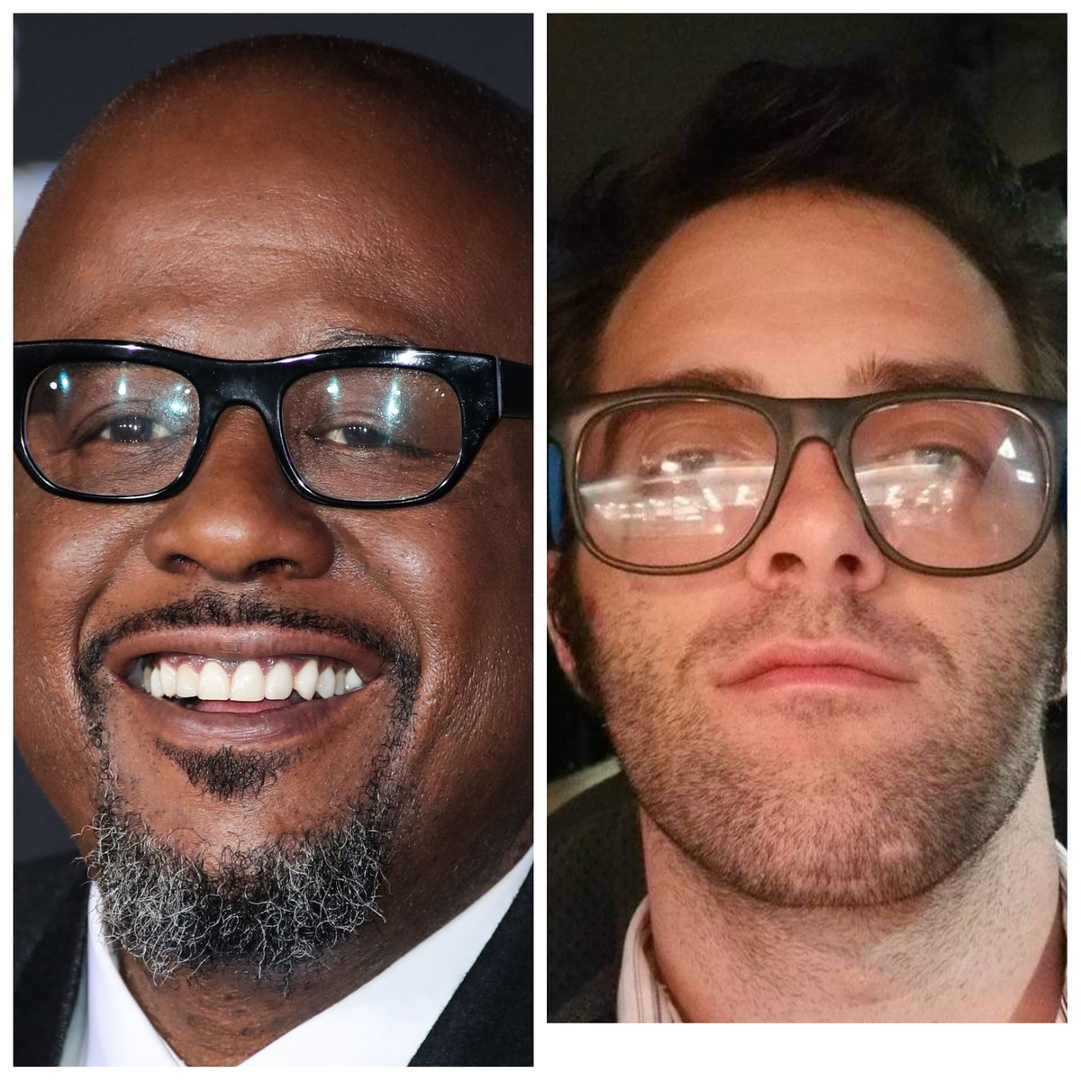 #this  #celebrity  #doppleganger  #challenge  #is  #too  #freaky  #its  #like  #looking  #into  #a  #mirror  #if  #anyone  #knows  @forestwhitaker  #or  #his  #people  #please  #send  #them  #my  #way  #as  #a  #body  #double  #stunt  #double  #dad  #maybe  ?