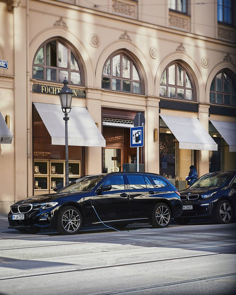 Charging for your next adventure. The BMW 3 Series Touring. #THE3