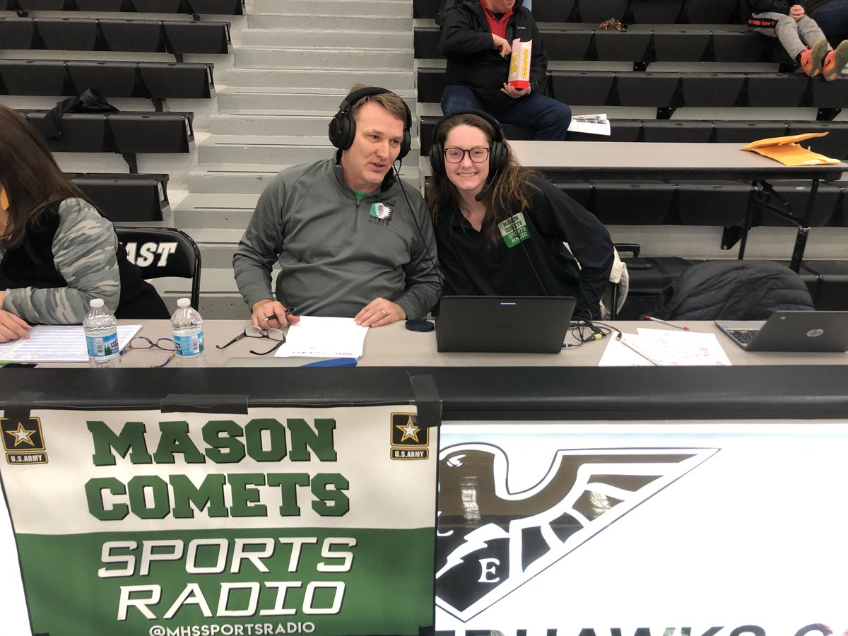 Sammy Connors and Dale Conner on the call for the 7 seeded Comets first round playoff match-up, against the 11 seeded Ursuline Academy Lions.   Click the link below to tune into the broadcast http://mixlr.com/mason-comets-sports-radio/…