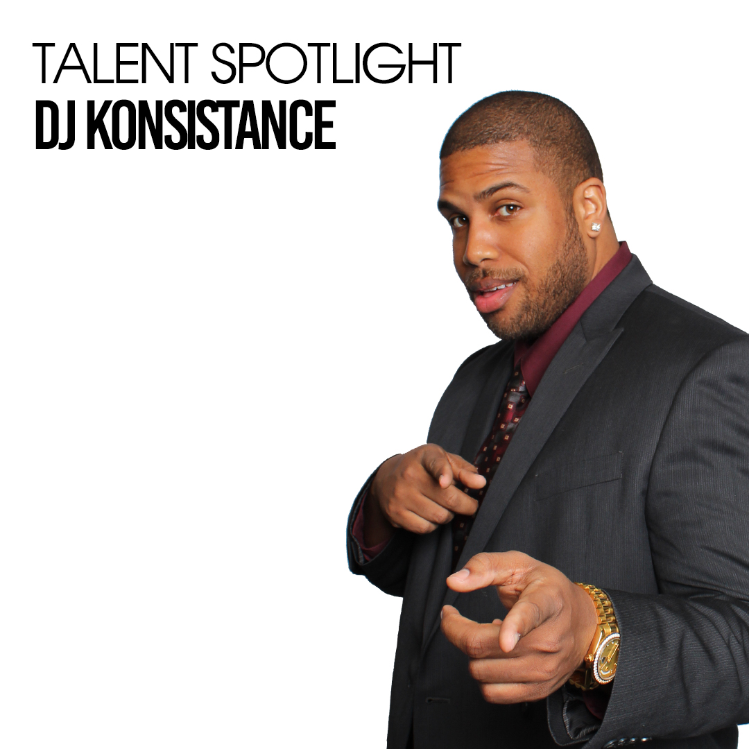 TALENT SPOTLIGHT🔥🔥🔥  301-788-6434 DJ Konsistance is no stranger to the DJ world. He's opened for major artists such as Ja Rule, and has been the backbone for numerous music acts starts in the Tri-state region.  #wedding #bookextraordinary