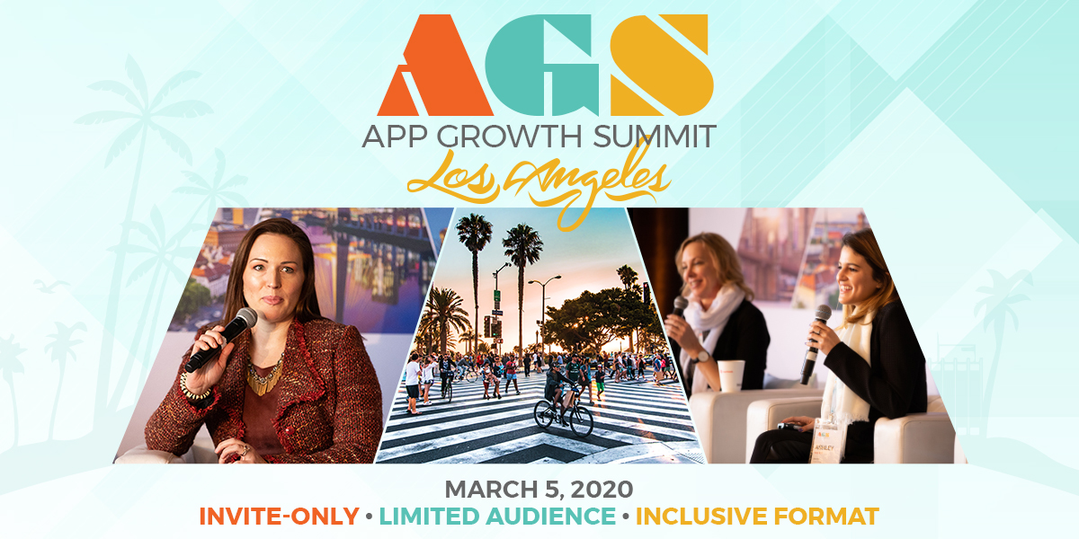 Want to attend an #AppGrowthSummit? Join us at #AGSLA on 3/5! Request your invitation today: http://ow.ly/80dO50yoIpT  #AppGrowth #MobileApps #MobileMarketing #LosAngelespic.twitter.com/XTz00WQYIR