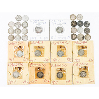Estate Lot (31) Silver 5 cents, Historical Years https://auction.auctionnetwork.ca/Estate-Lot-31-Silver-5-cents-Historical-Years_i36070349 … - Online Auction Wednesday February 19th, 2020 At 7:00 PM EST. Collector Estates | #Coins #Banknotes #Bullion #Art #Jewellery #SportsMemorabilia #Collectibles & More! #OnlineAuction #CoinAuctions pic.twitter.com/5Ey1DuXmxS