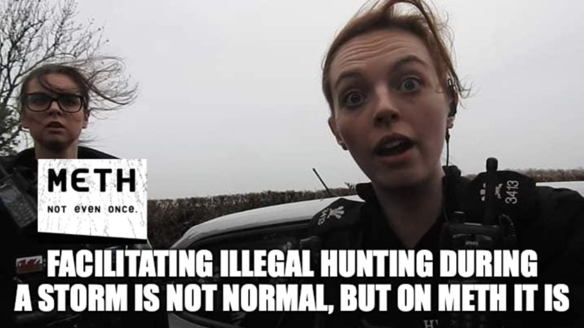 @northwalessabs When you try to facilitate an illegal hunt during a storm