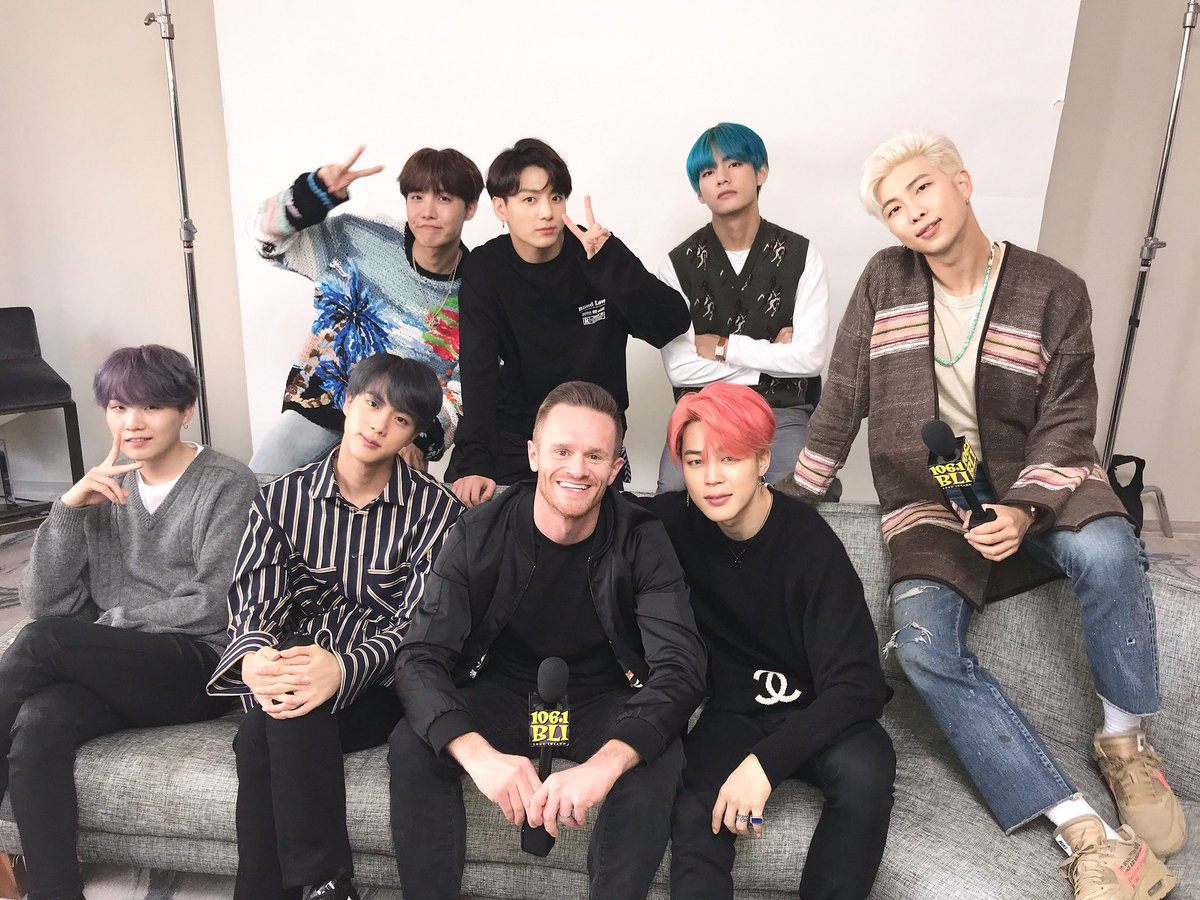 Big news! I'll be sitting with @BTS_twt this Friday! Got questions, #BTSArmy? Tweet them using #SykeAsksBTS!