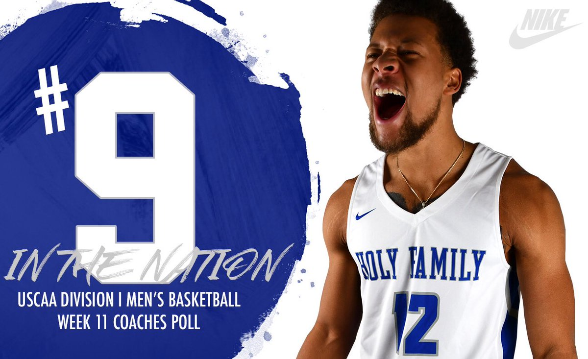 Excited to be #9 in the latest @USCAA Coaches Poll!! #GoLakers pic.twitter.com/EJkOE5kQMK