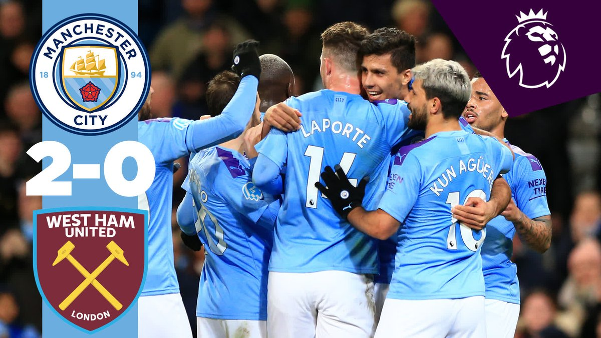3️⃣ points 2️⃣ goals 1️⃣ clean sheet  The best bits from our victory over the Hammers...  🔵 #MCIWHU #ManCity