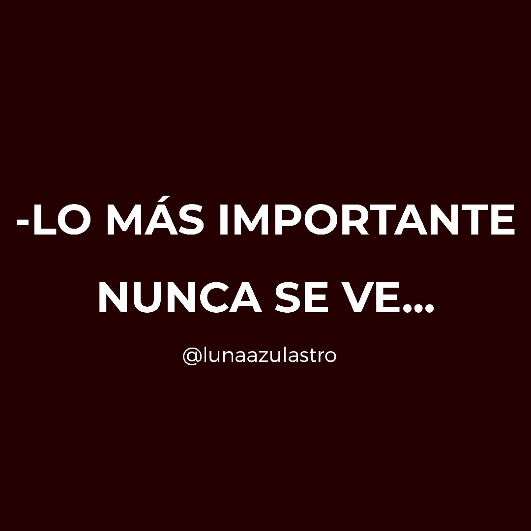Dicen por ahí que lo esencial es invisible a lo ojos.   Si te gustó dale  y seguime.  #frasesdeamor #amore #amor #magia #fé #feliz #abundancia #decretos #gratitud #coachingespiritual #coaching #tarot #zodiac #miami #marbella #mexico#perú #panamápic.twitter.com/PCFLgj7kvY